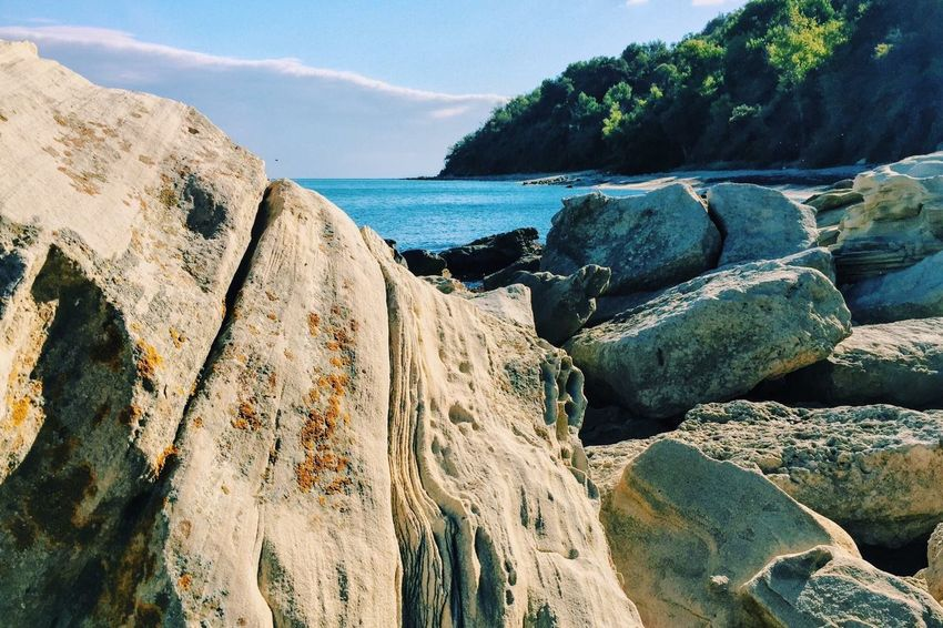 Bulgaria Bulgarian Nature Varna Rock - Object Nature Sea Beauty In Nature Scenics Water Tranquility No People Sky Day Beach Outdoors