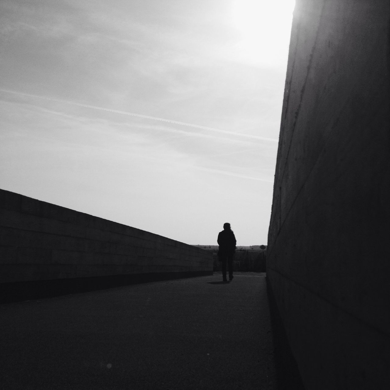 Beautiful stock photos of silhouette, Architecture, Built Structure, Day, Footpath