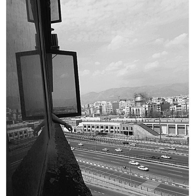 Black & White سیاه و سفید پنجره Window Hand دست