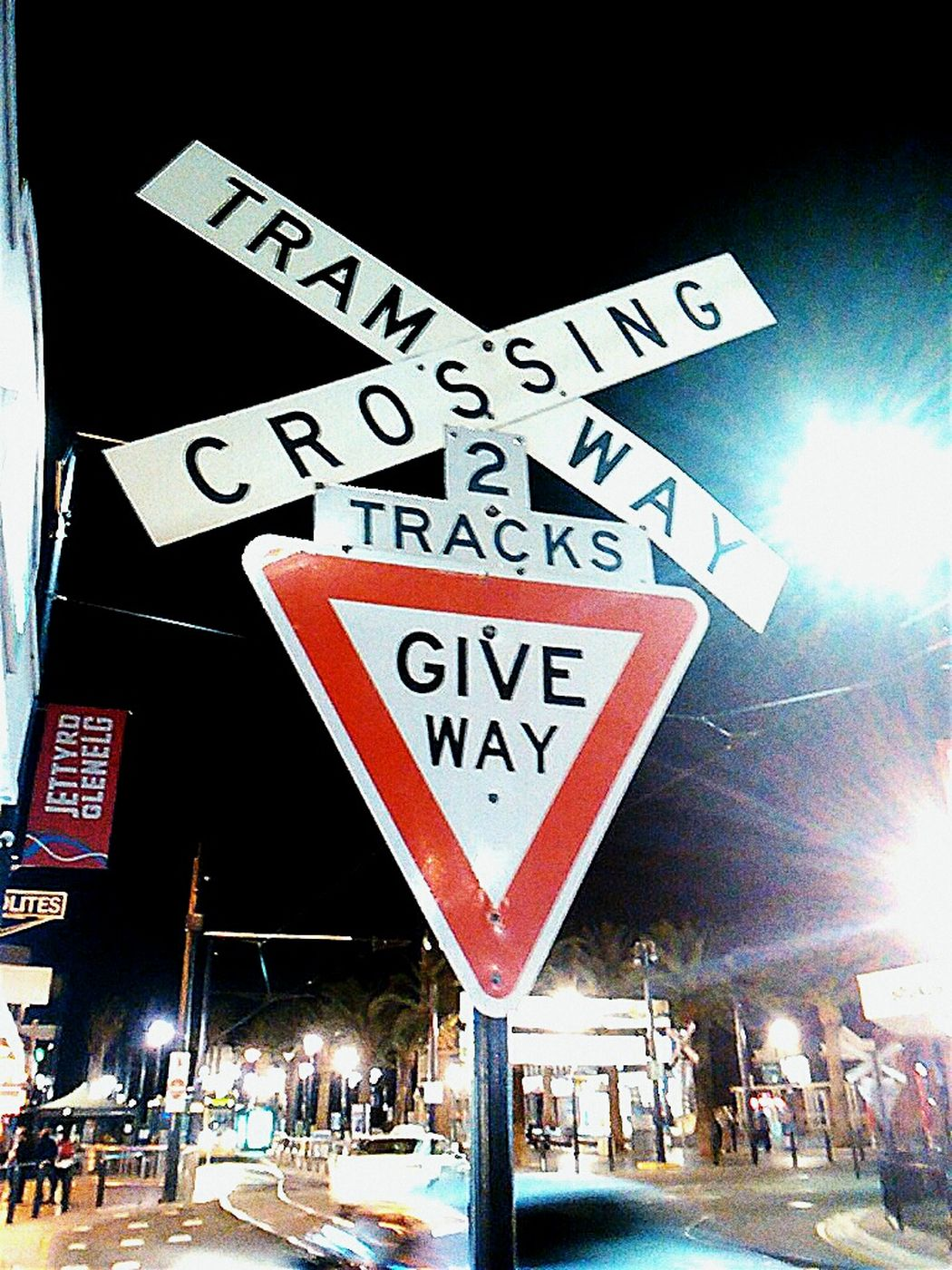 Tramway Crossing Tramway Trams Give Way Signs Tram Signs Tramway Sign Tram Tracks Signporn Signstalkers Sign