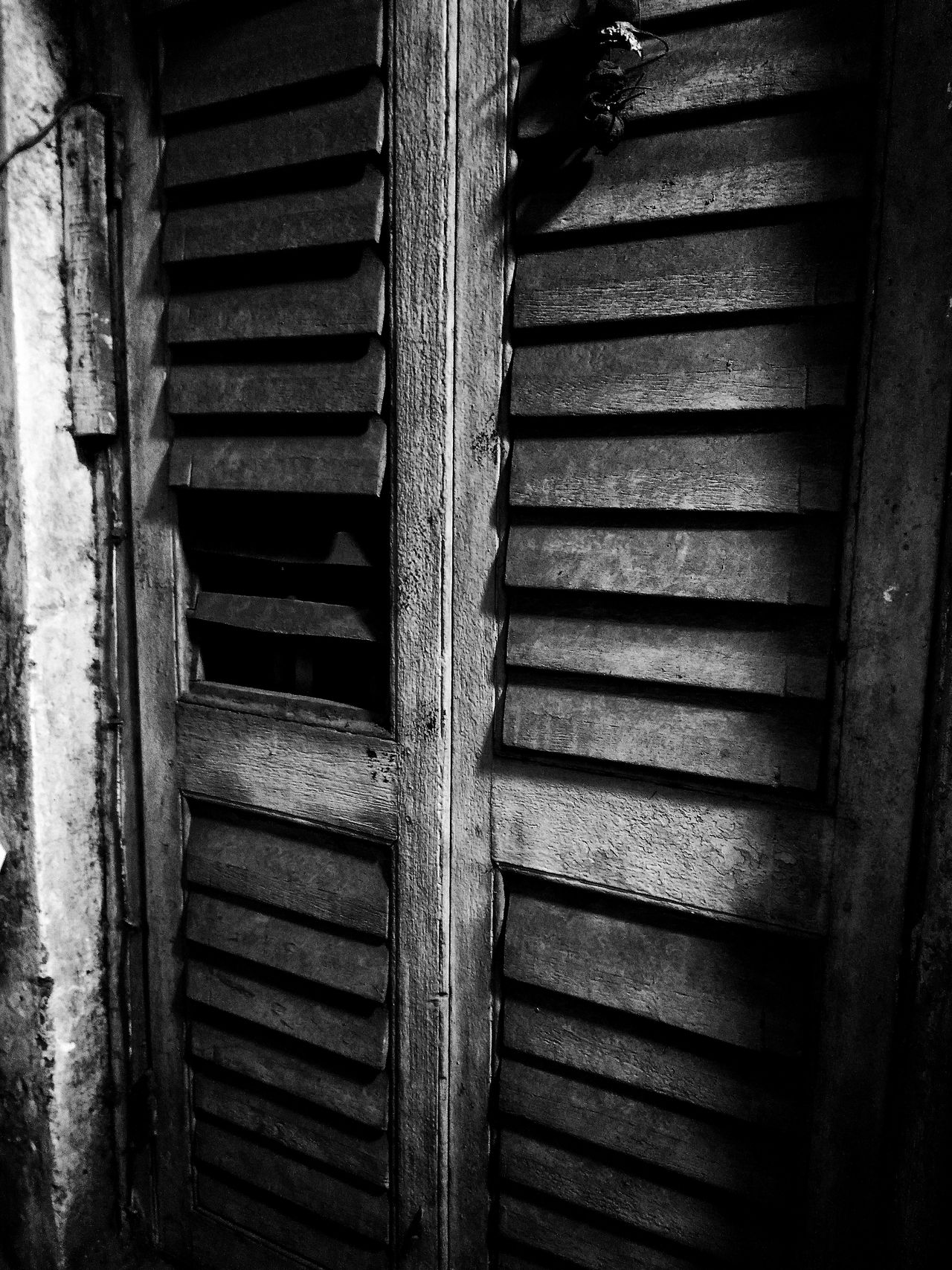 An old creepy door Built Structure Architecture Outdoors Abstract Photography Old Door Creepy Door Hauntingly Beautiful Black & White India Kolkata