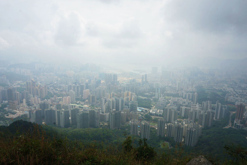 It's not the fog we cannot pass through, but our mind. * A view of the pearl from the Lion Rock. The Great Outdoors - 2017 EyeEm Awards Lionrock Skyscraper Cityscape City HongKong Business Business Finance And Industry Urban Skyline Architecture Downtown District Modern High Angle View Fog Travel Destinations Outdoors No People Building Exterior Sky Day Nature Hong Kong City Hongkong Photos Hongkonger Hongkongcity