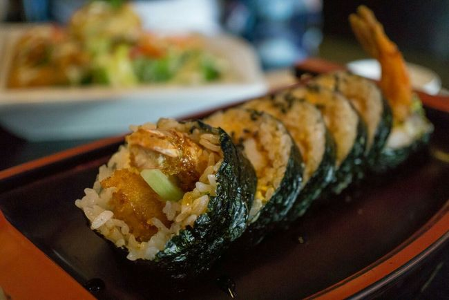 Tempura Roll Sushi Shrimptempura Columbia Mo Food Foodporn Food Photography Food Porn