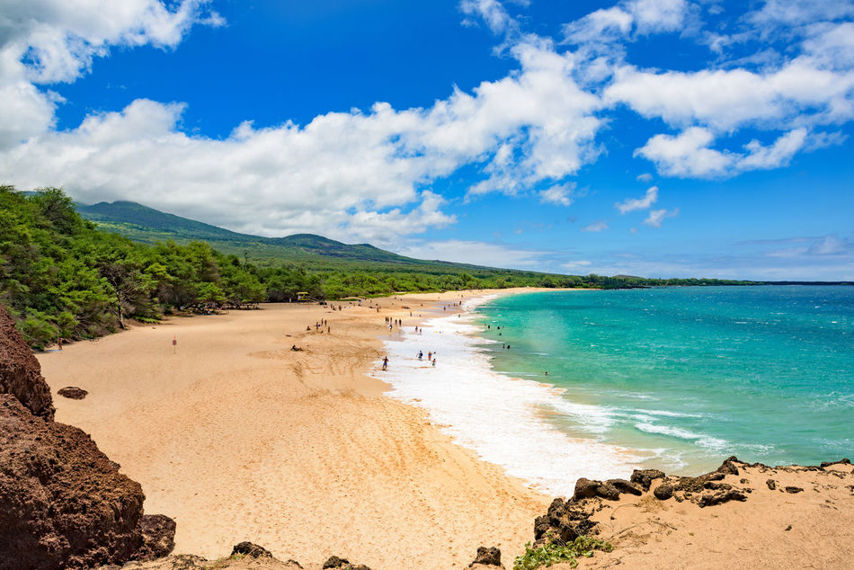 Long beach, Maui Away Away From It All Beach Cloudscape Freedom Hawaii Holiday Horizon Over Water Horizontal Maui Ocean Ocean View Outdoors Pacific Ocean People Relax Sea Shore Summer Surf Travel Tropical Vacation