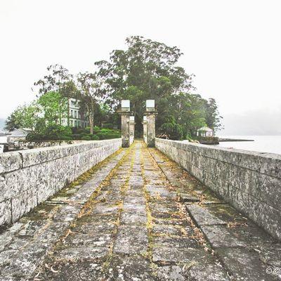 ⚓ Sail to the thinking island ⛵ Sailing Sansimonisland Randebay Riasbaixas Islands Sansimon Galifornia Riadevigo WestCoast Workplaces Places Bridge