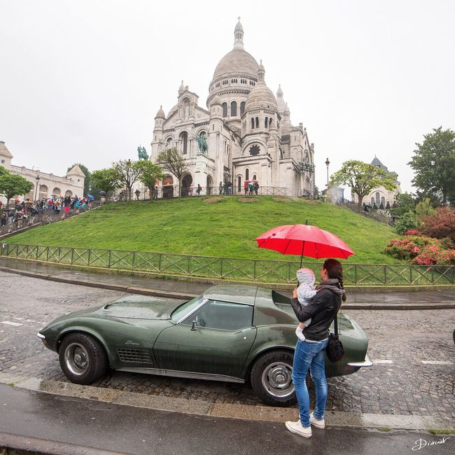 Bonne Fête Maman Fête Des Mères avec Jules et sa maman Corvette Sacre Coeur
