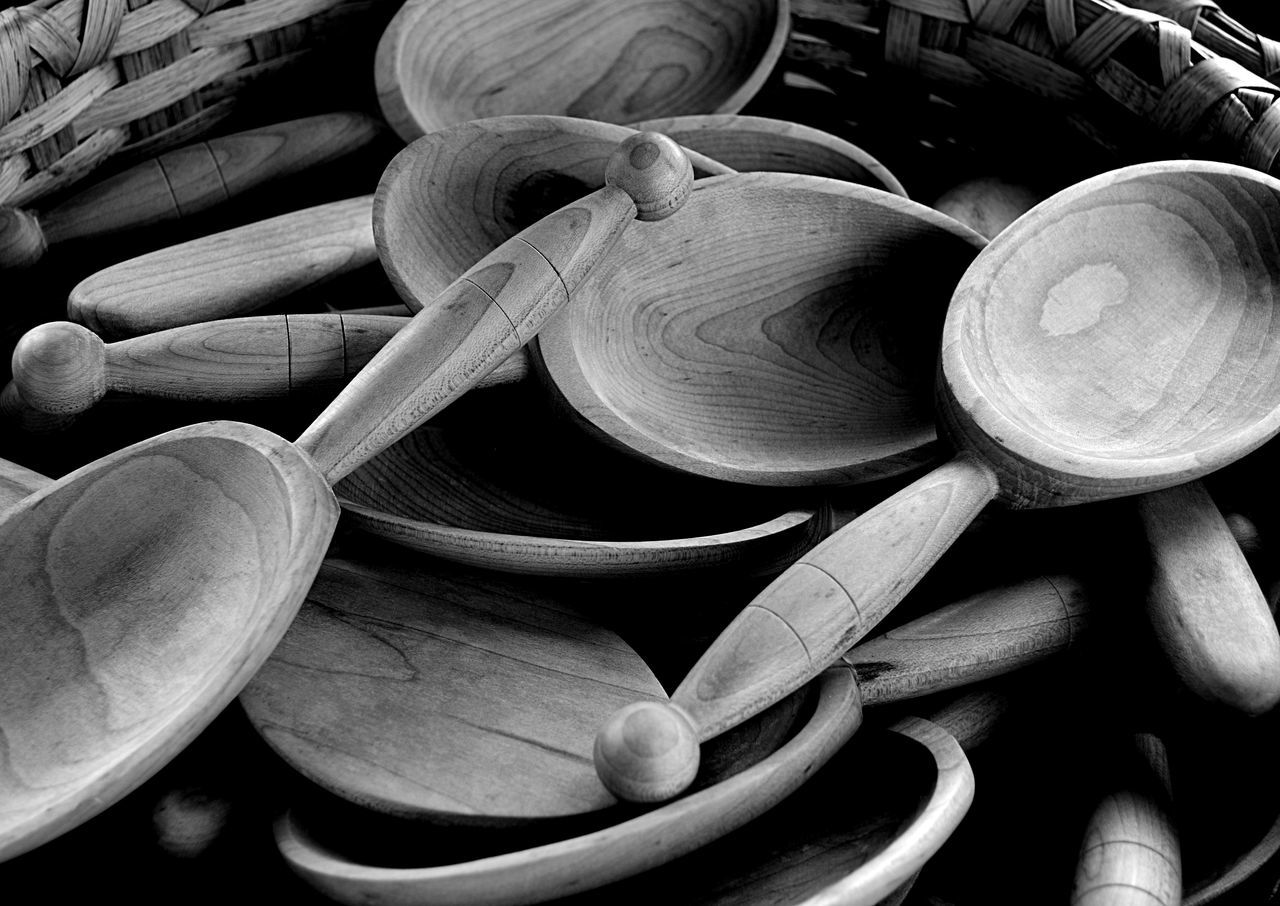wood - material, no people, large group of objects, close-up, indoors, day