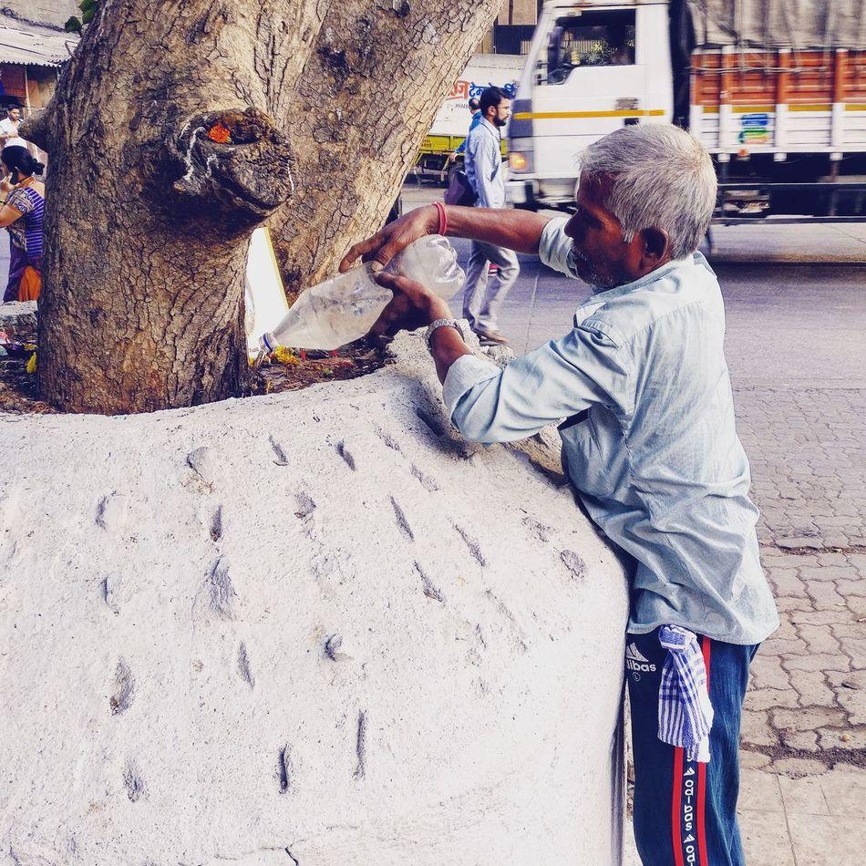 Humanity !!!! Real People Godson Green Tree Hope First Eyeem Photo