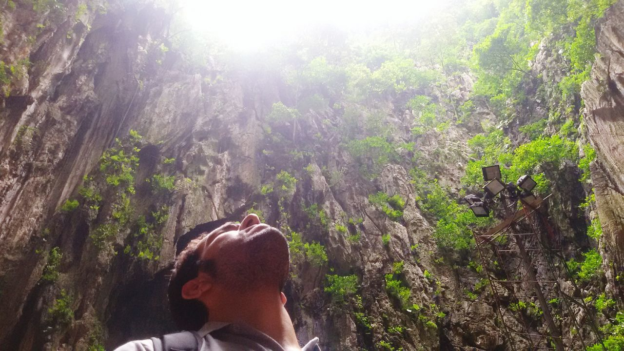 Rear View Headshot Tree One Woman Only Adults Only One Person Nature Sunbeam Outdoors Only Women People Adult Beauty In Nature Day Bamboo Grove Human Body Part EyeEmNewHere Meditation Dreaming Batu Caves -Malaysia Adult Kuala Lumpur Malaysia  Thinking Travel Destinations