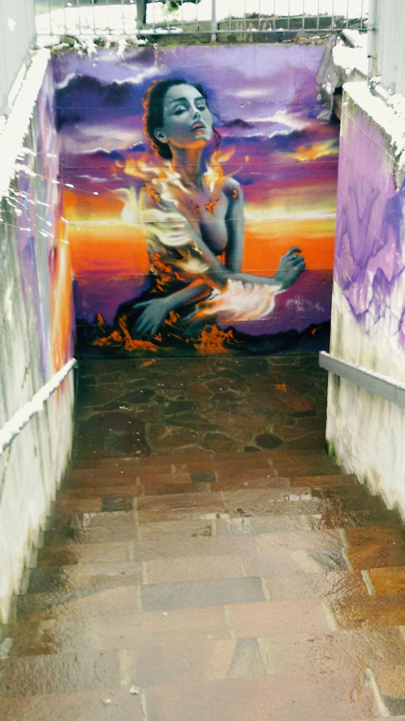 Graffiti Wall Streetphotography Streetphoto_bw