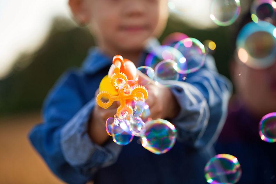 Beautiful stock photos of spaß, 2-3 Years, Boys, Bubble, Bubble Wand