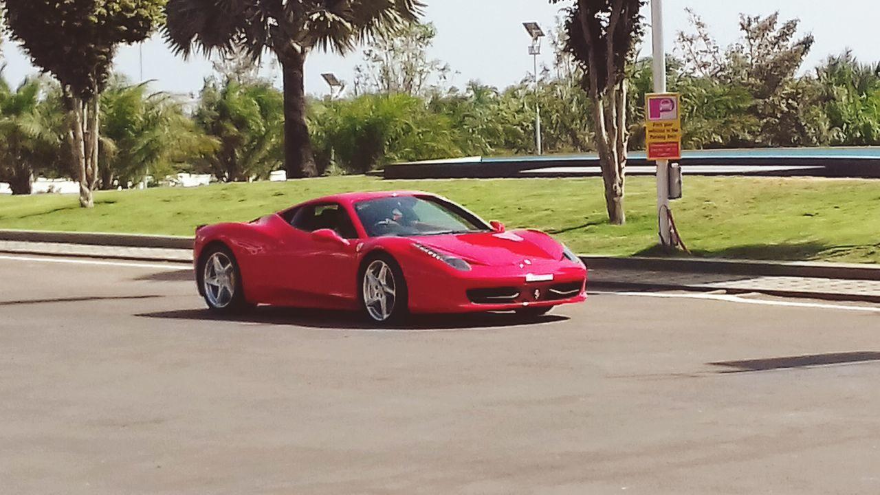 Red beast :0 Red Sports Car Car Racecar Luxury ferrari