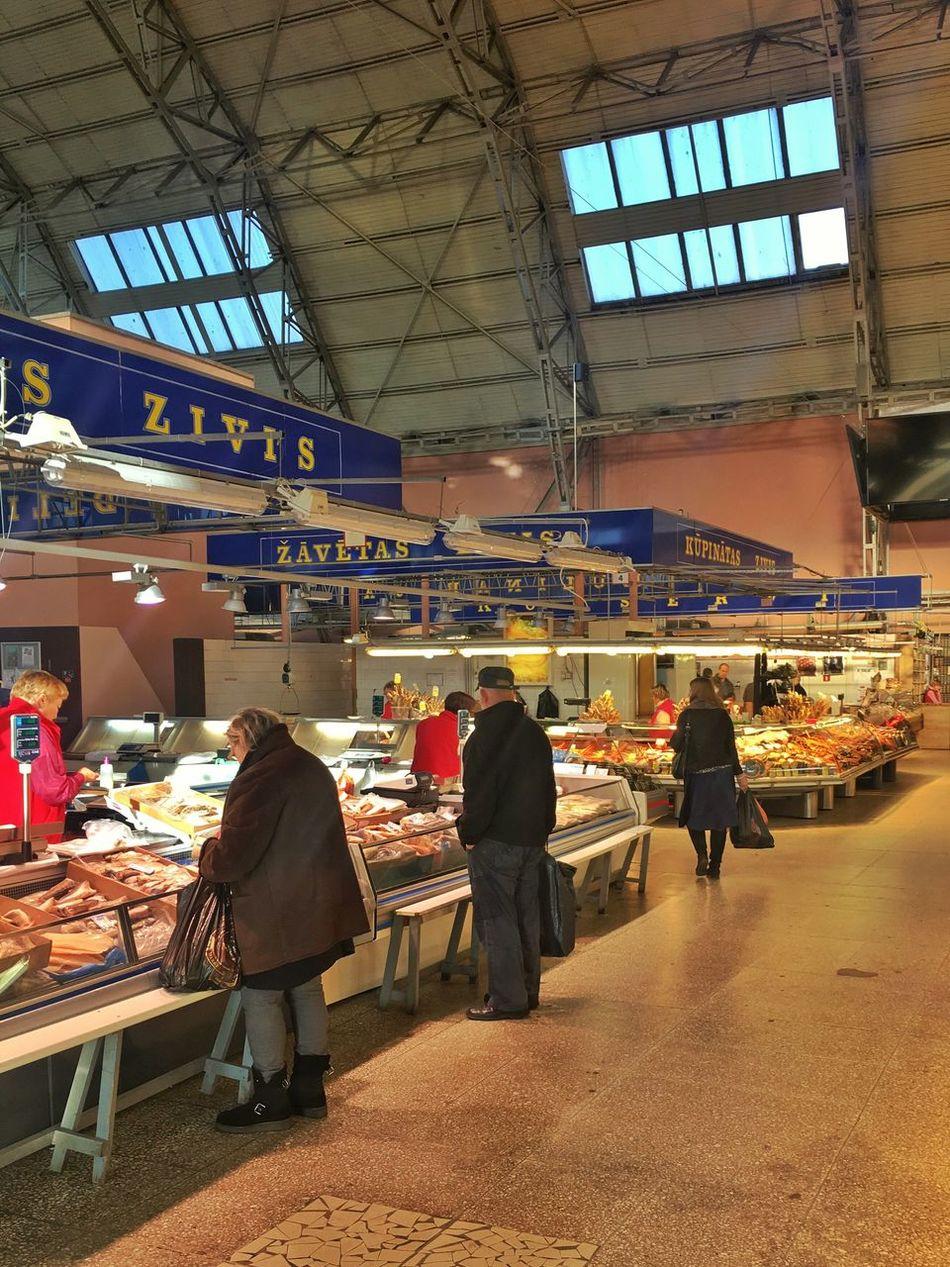Market Hall Market Riga Baltics2k16