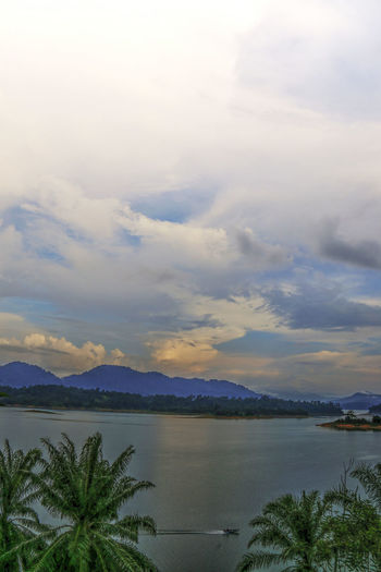Kenyir lake is the largest man-made lake in South-East Asia. Covering an area of 260,000 hectares, it is home to some 300 species of freshwater fishes Beauty In Nature Day Kenyir Kenyir Lake Lake Nature No People Outdoors Tourist Destination Tropical Climate Tropical Jungle Tropical Paradise Water