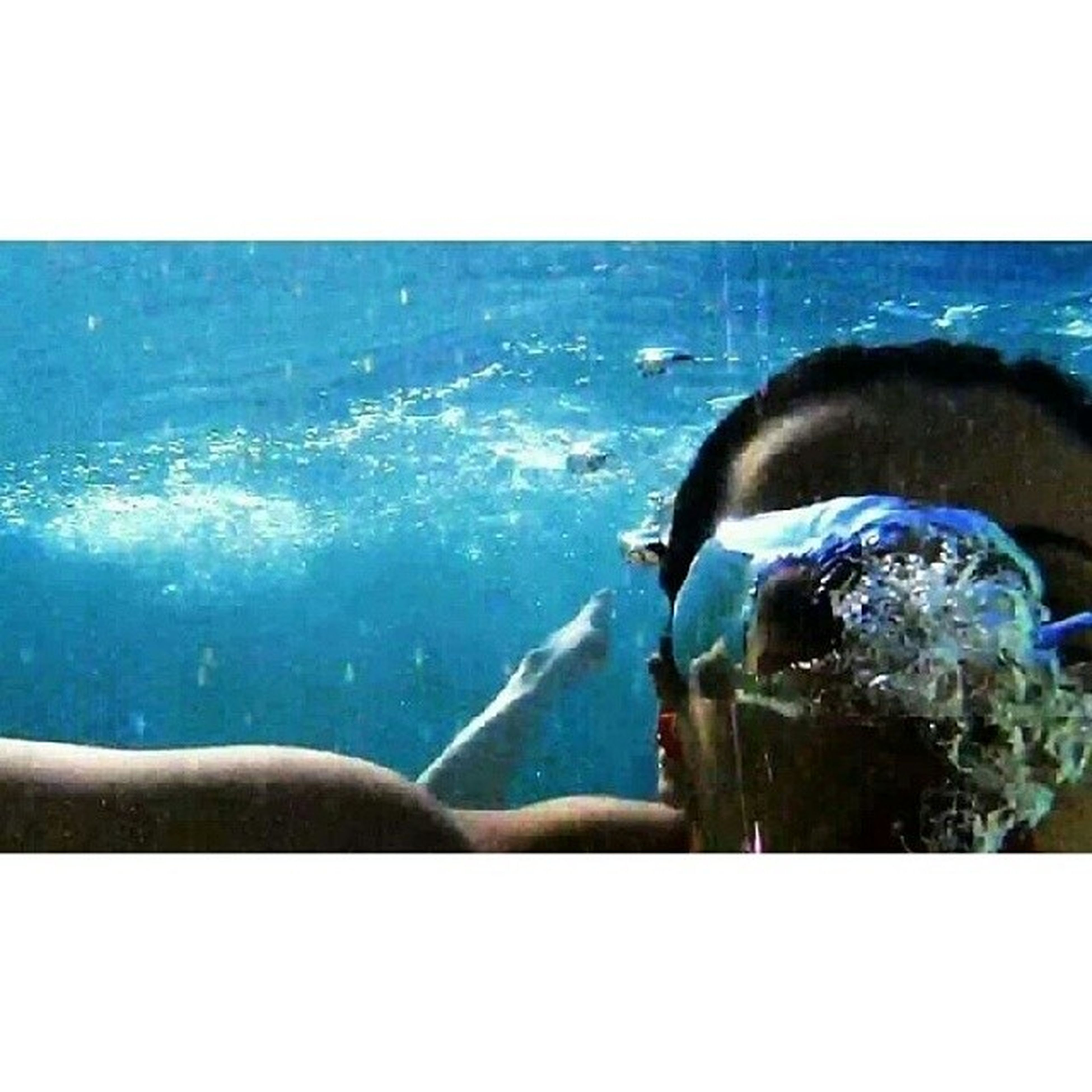 Quand on parle sous l'eau :) Me Itriedtospeakunderwater