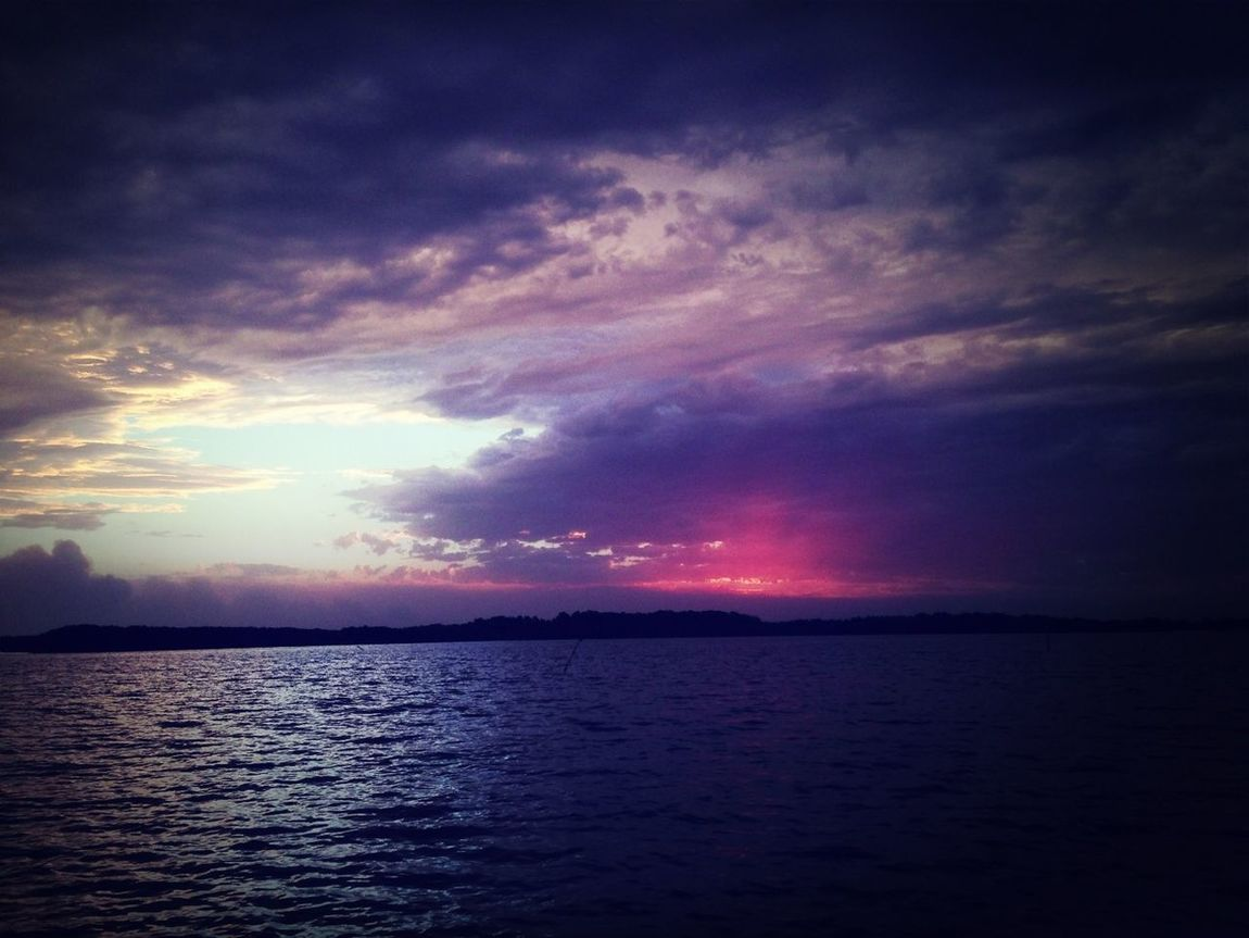 Enjoying The Sunset