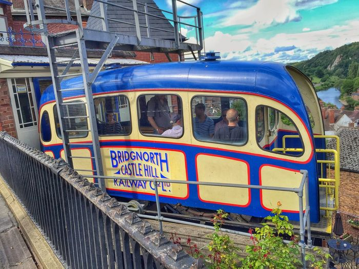 Go for a ride on the Cliff Railway Bridgnorth Public Transportation Taking Photos Enjoying Life Iphone6plus
