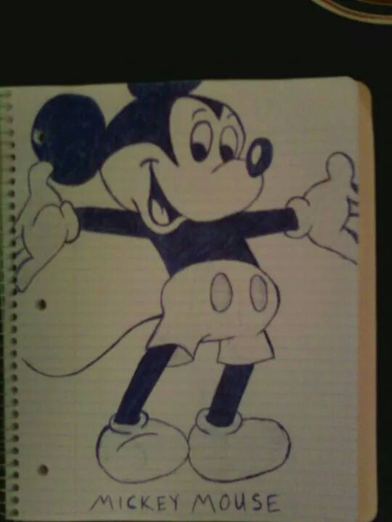 Drawing Disney Mickey Mouse Hugs?