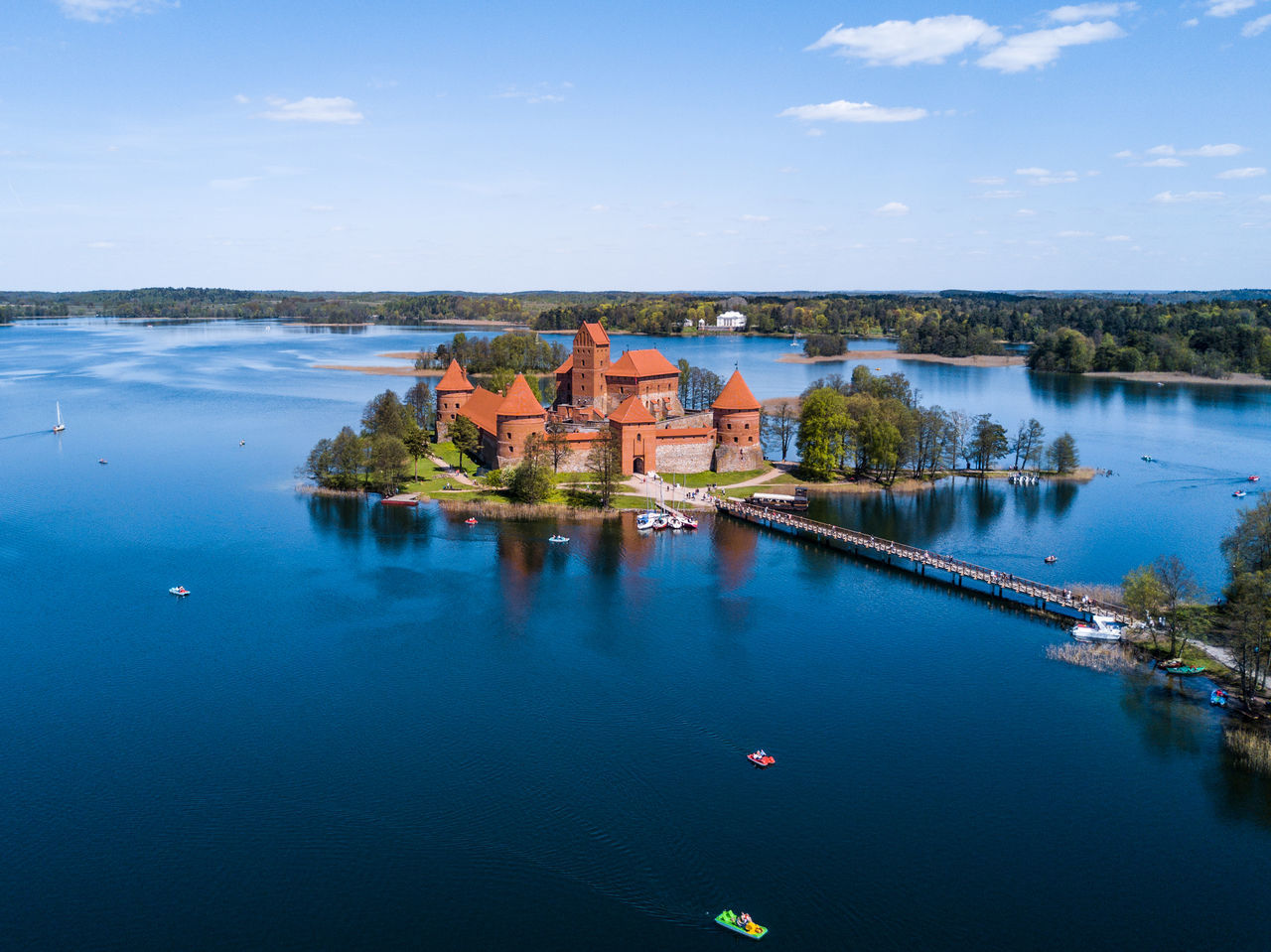 Trakai castle in Lithuania - tourist attraction in Lithuania Architecture Beauty In Nature Building Exterior Built Structure Dji Djimavicpro Drone  Dronephotography History Lithuania Mavic Pro Medieval Medieval Architecture Reflection Scenics Sigh Sightseeing Tourism Town Trakai Trakai Castle Trakai Island Castle Travel Destinations Village Water The Great Outdoors - 2017 EyeEm Awards