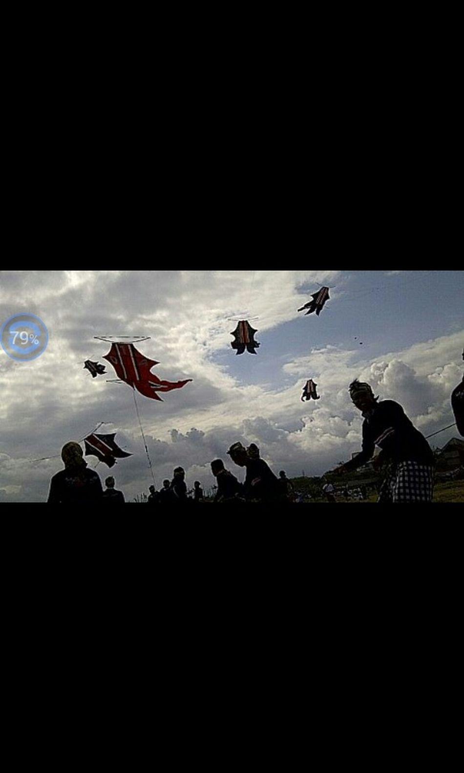 awesome....kite festival in bali