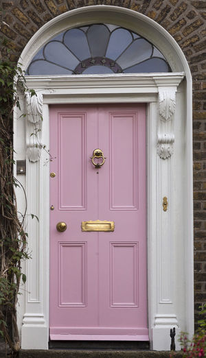 Dublin Individuality Ireland Old Fashioned Pink Resistance  Wood Arch Architecture Building Exterior Civil Day District Door English Entrance Gregorian Historical Law Medieval Neighborhood No People Outdoors Series