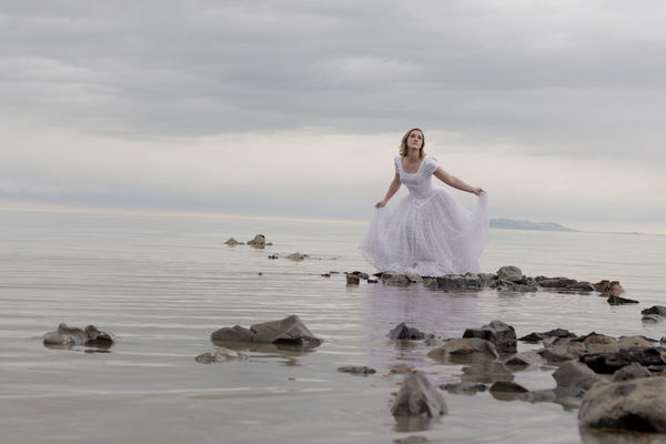 One Woman Only Beauty Landscape Nature Outdoors Sand Young Woman The Great Salt Lake Great Salt Lake Shoreline Rsa_ladies