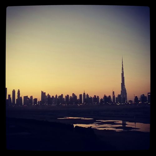 Sunset Beautiful Dubai GetYourGuide Cityscapes