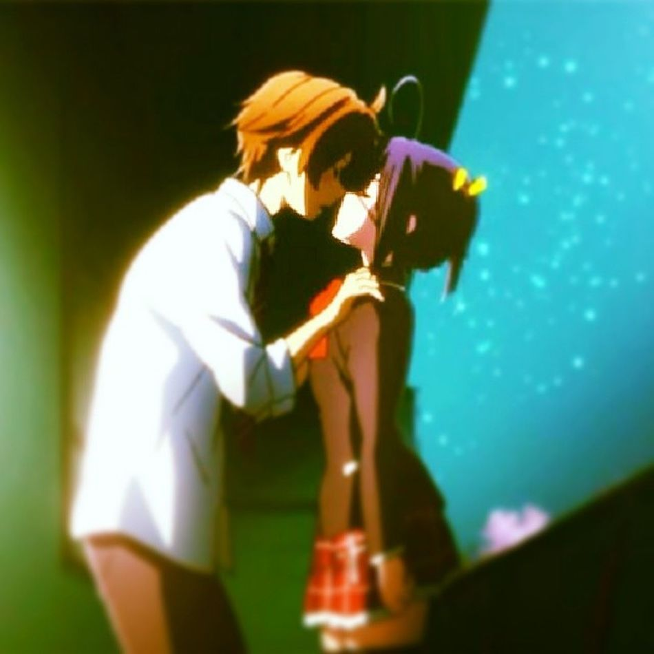 Rikka PortadoraDelOjoDemoniaco DarkFlameMaster Yuuta intaanine otaku romance kawaii que son lindos<3