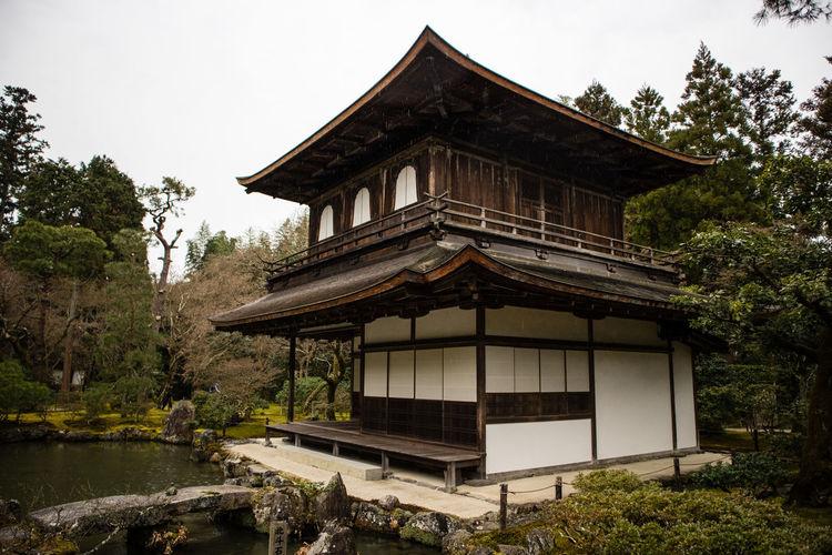 The Silver Pavilion Architecture Building Exterior Built Structure Day Japan Kyoto Nature Nature Nature_collection Outdoors Pavilion Silver Pavilio Travel Destinations Minimalist Architecture