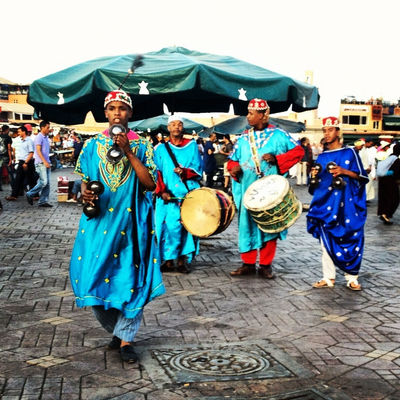 Gnawa music at Marrakech by Amine Med