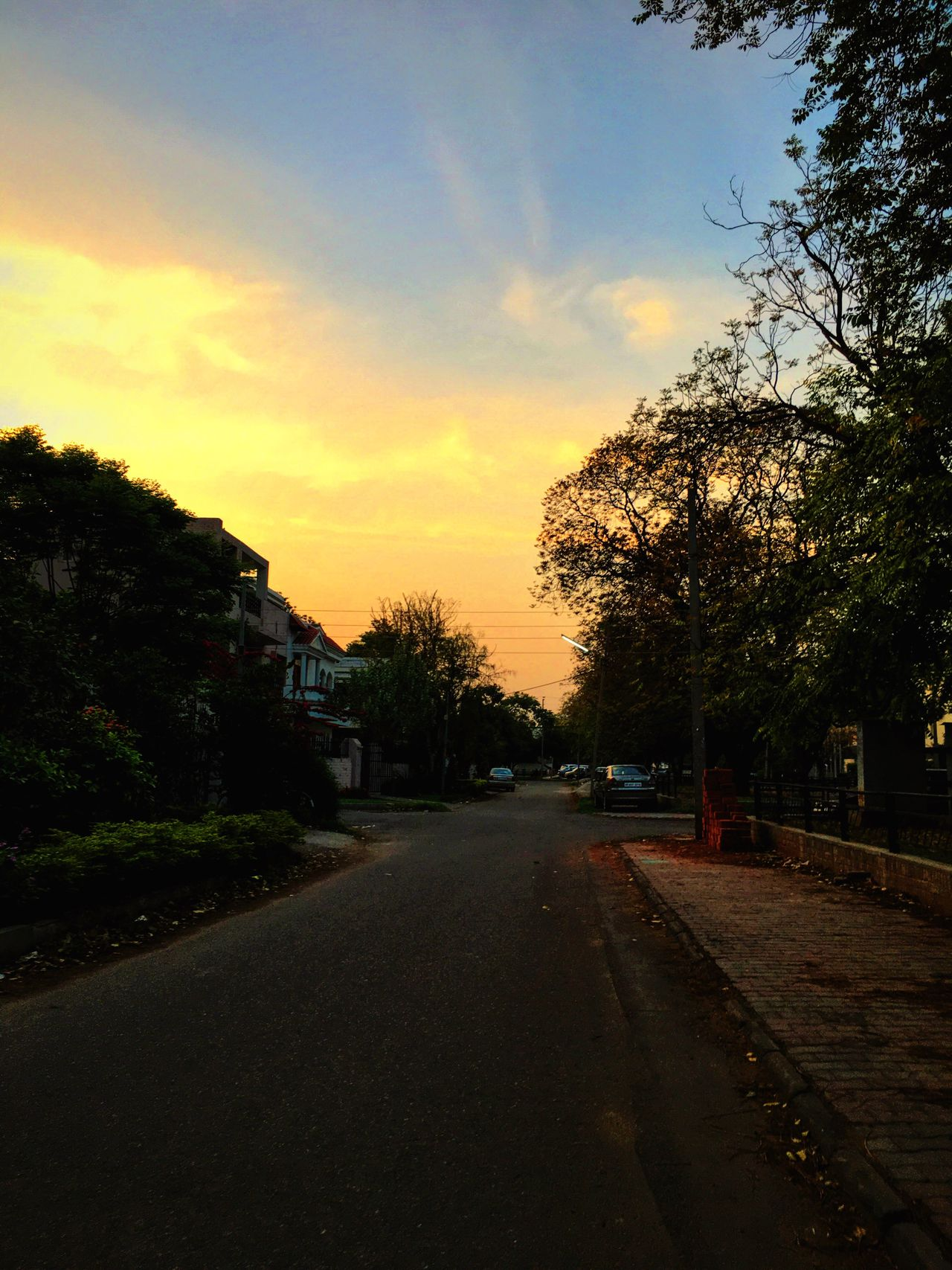 Sun Indianroads Beautiful