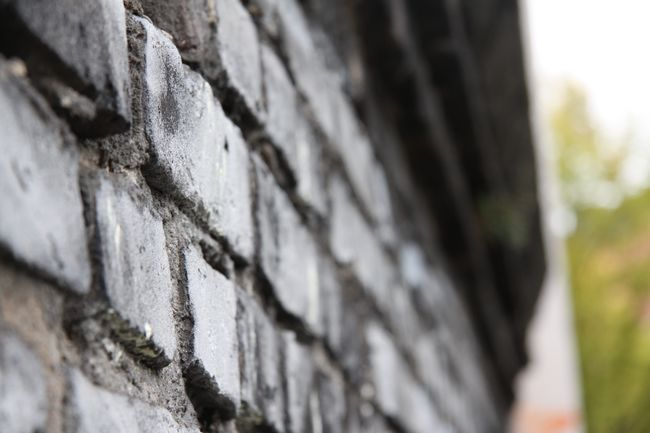 Old wall at the Helios area, Cologne Brick Wall Close-up Day Detail Focus On Foreground Helios Helios Area Heliosgelände Köln Mauer Nature No People Outdoors Selective Focus Stein Steinmauer Stone Material Stone Wall