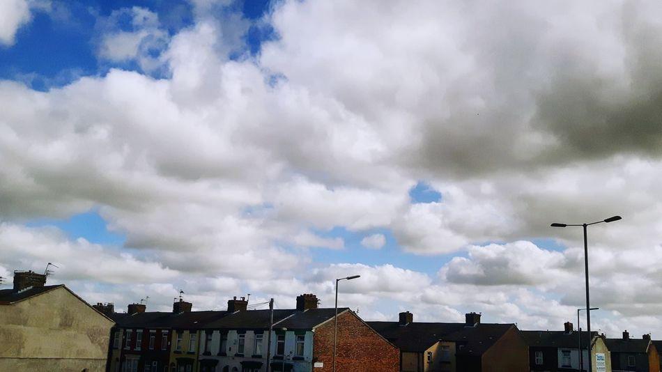 Cloudybluesky Cloudscape Houses Urbansky Summer Views ...