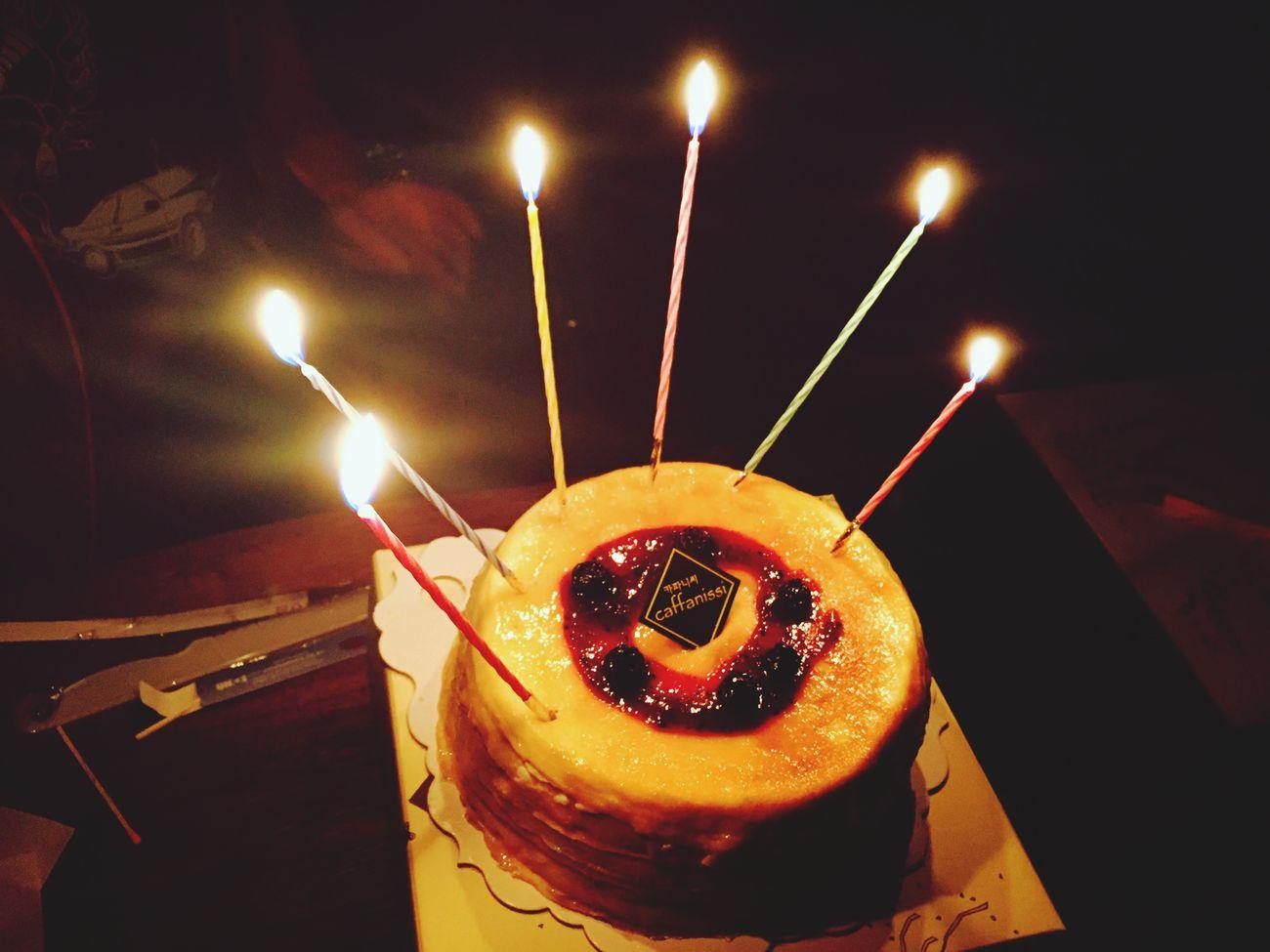 Mom's Birthday Congratulations Crape Cake Yummy♡ Home Sweet Home ❤️❤️