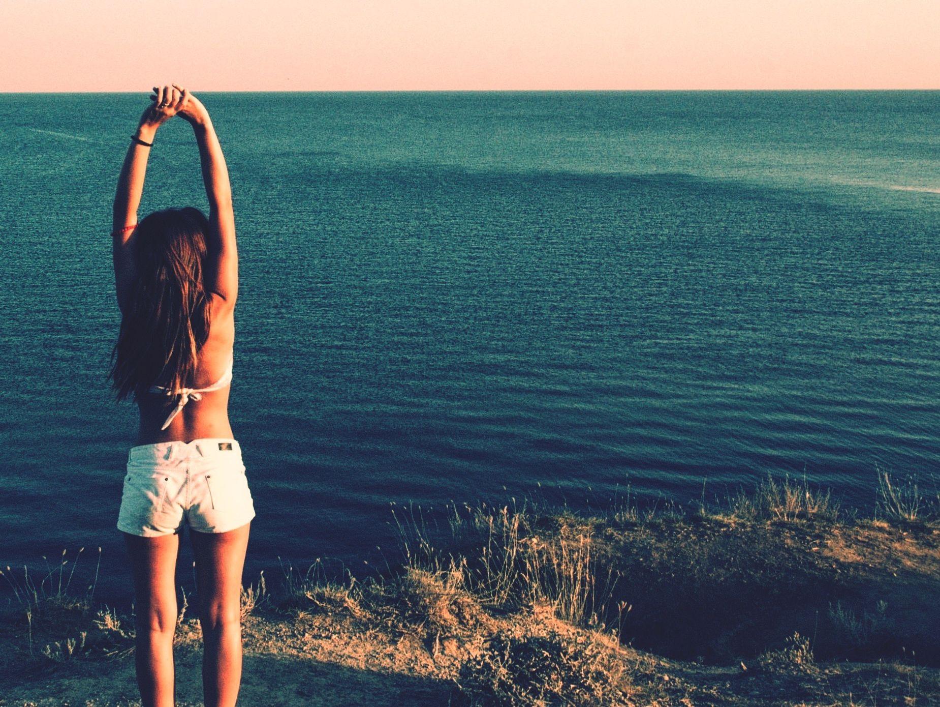 Crazy holidays 😻🎉💕😢 Summer Summertime Crazy Holidays Girl Black Sea Sea Life