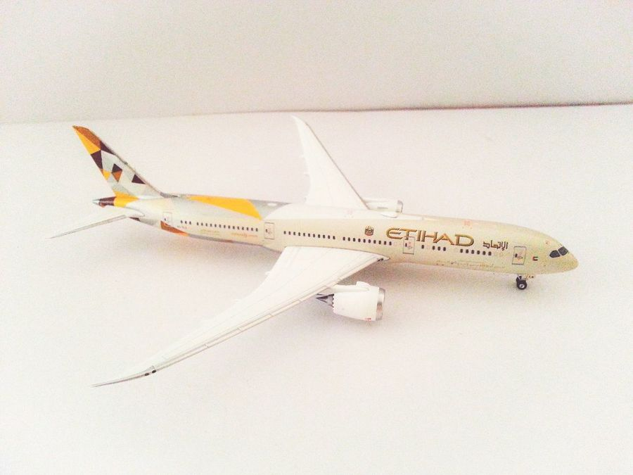 Aircrafts Etihadairways Boeing 787