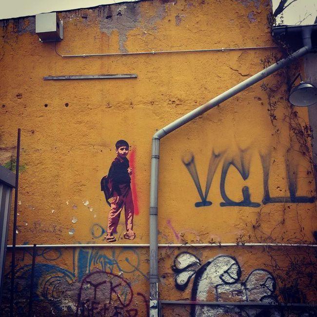 Oh boy! Watch out for the rascal invasion! Streetart Streetartleipzig Stencil Ohboy Rascal