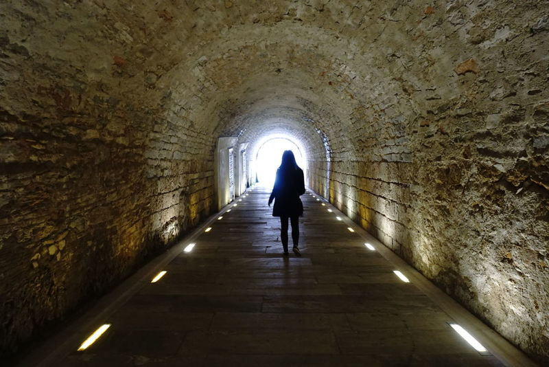 walking away. Tunnelvision Ancient Architecture Shadows Light Travel Wanderlust Athens, Greece