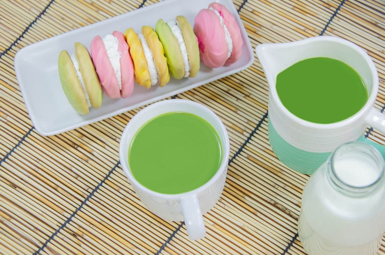 Green Tea Milk Matcha Japanese Tea with milk and Butter creamy Macaroon delicious tasty yummy Japanese  Japanese Food Japanese Style Matcha Matcha Latte Delicious Food Food And Drink Freshness Green Color Green Tea Green Tea Latte Green Tea Milk Green Tea ❤️ Healthy Eating Japanese Food Macaroon Macaroons Lover Matcha Green Tea Matcha Tea Matchagreentea Ready-to-eat Still Life Tasty Yummy