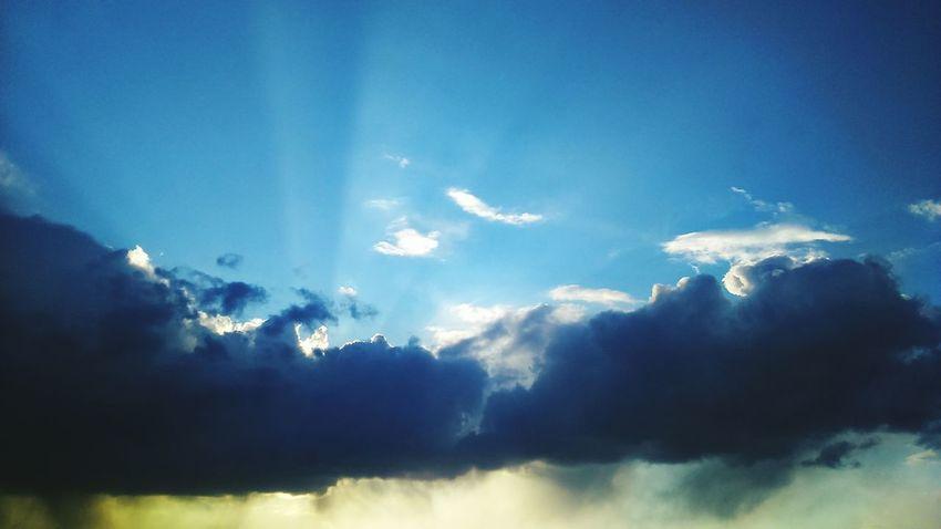 Poznań Poland Clouds And Sun