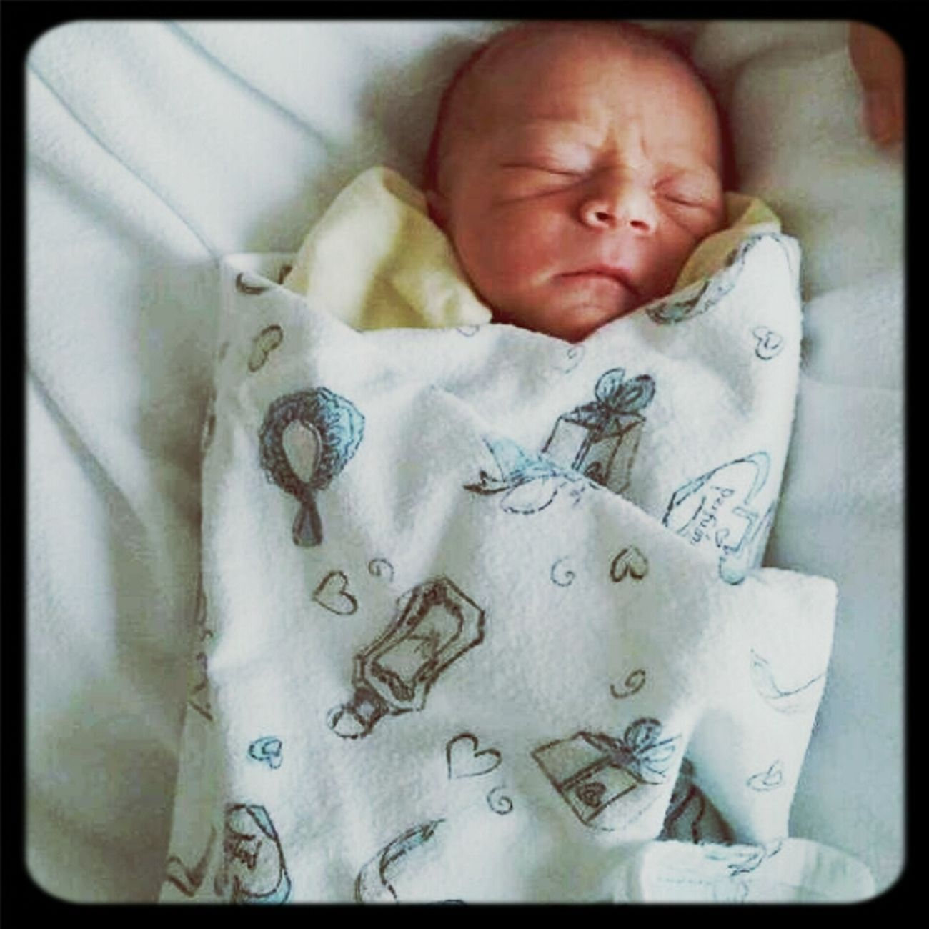 Baby Boy New Born My Nephew 1 Day Old