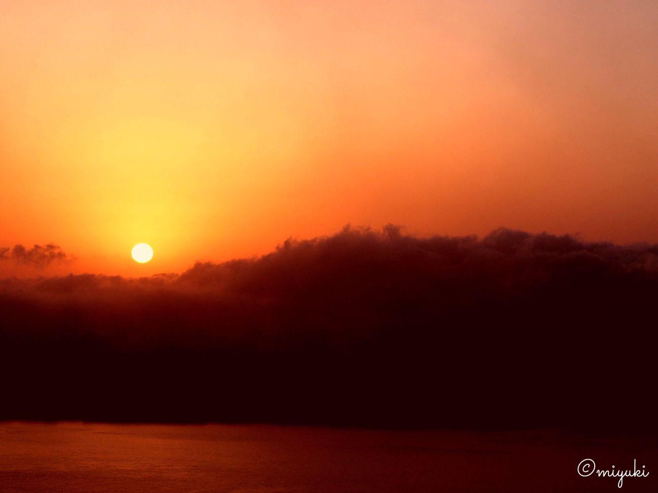 Sunset from Mt.Hakodate. Sunset Dusk EyeEm Best Shots Sunset_collection Sunset #sun #clouds #skylovers #sky #nature #beautifulinnature #naturalbeauty #photography #landscape Sunset Lovers