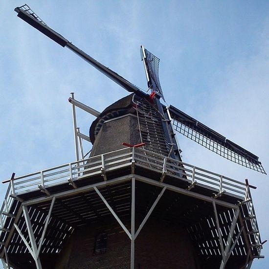 Onder de molen Mill Holland Igholland Ig_holland Nederland Thenetherlands Netherlands Dutch Heerenveen Nofilter