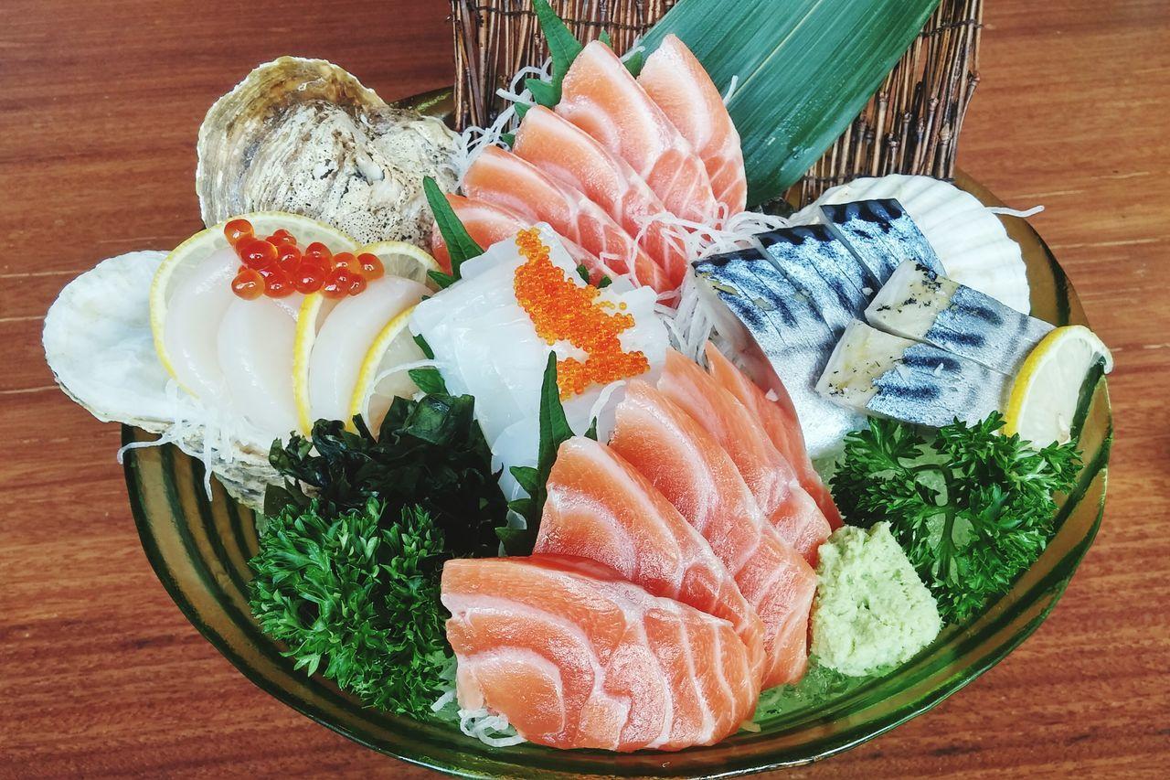 Sashimi Bowl Sashimilovers Sashimi Set Japanese Food Food Yummy