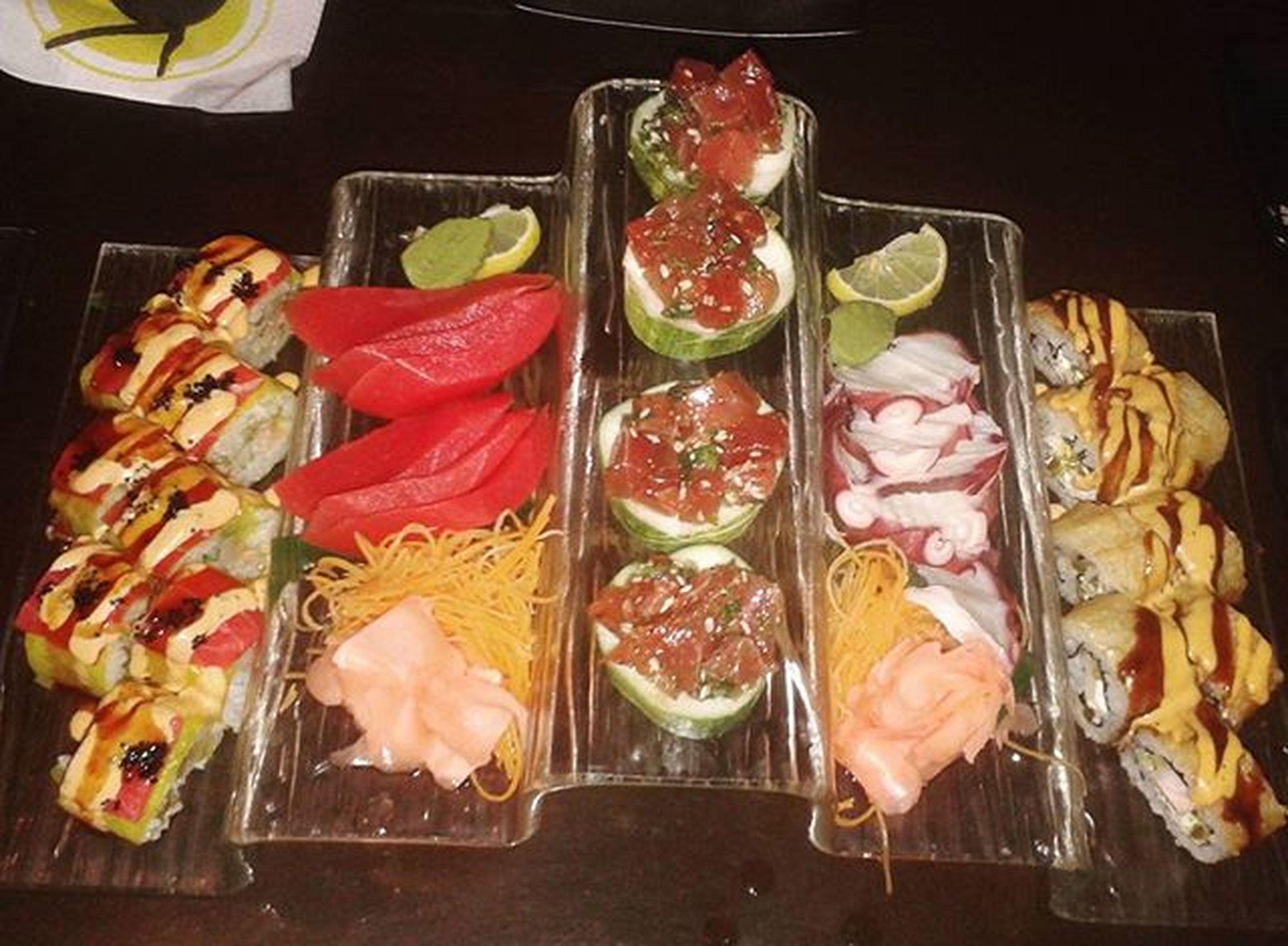 Food.... Sushinight Sushi Sashimi  Kaizansushi Trinidad Nightout Trinidadandtobago Foodporn