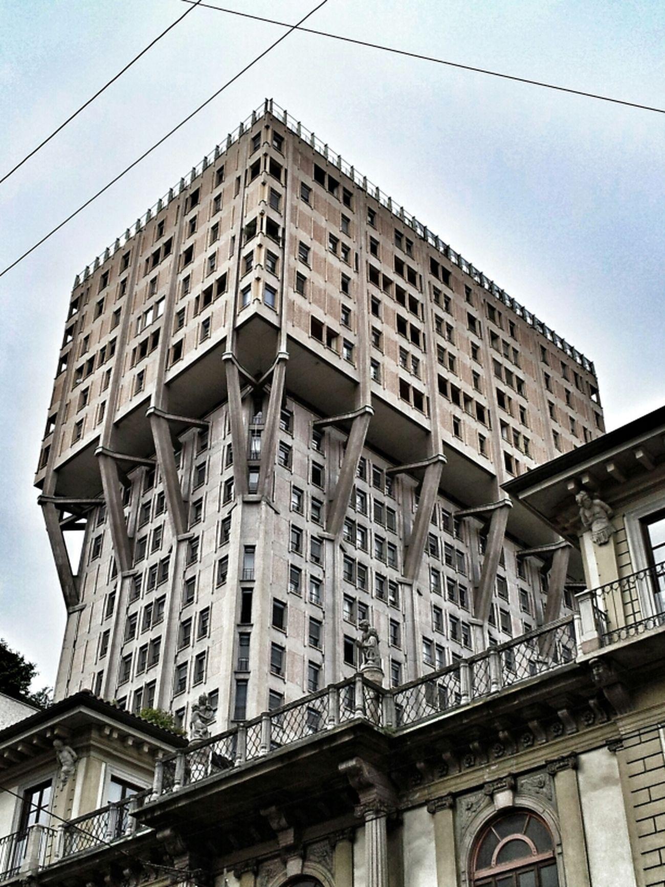 Architecture Buildingstyles Torre Velasca