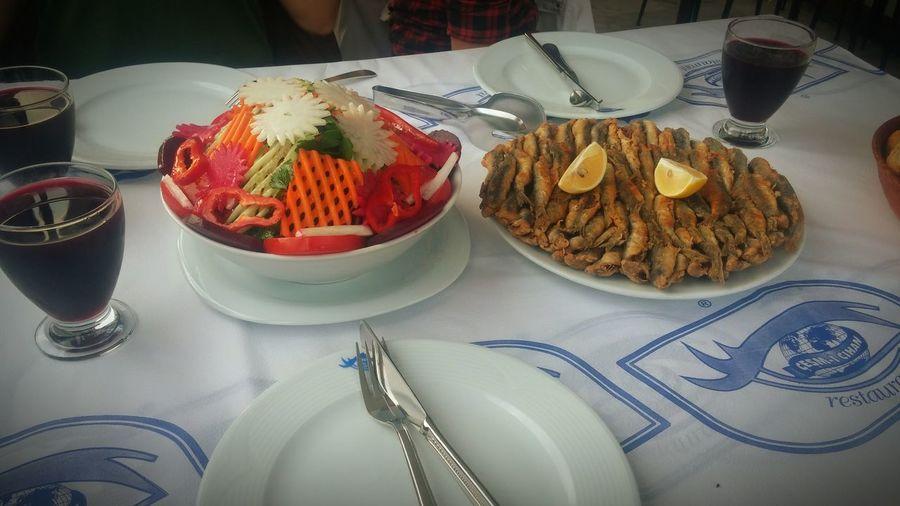Salad Restaurant Amasra Cesmicihan Bartın Fish Eating Seafood