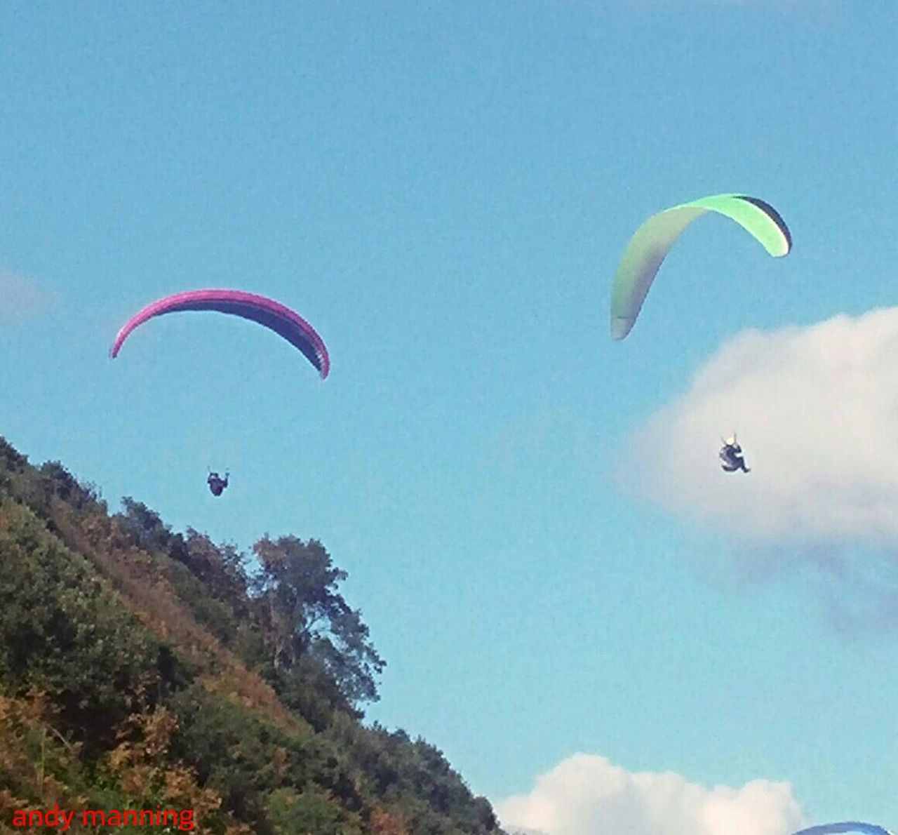 From My Point Of View Lazysunday Paragliding Floating The Purist (no Edit, No Filter) Thermals.