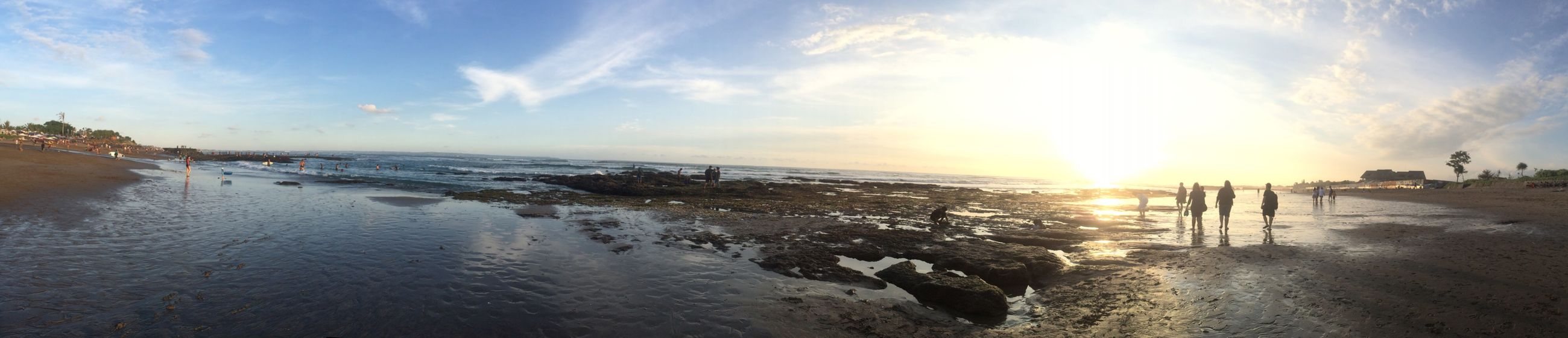 Beach Water Sea Beach Tranquil Scene Sunset Scenics Horizon Over Water Beauty In Nature Tranquility Sky Shore Nature Panoramic Idyllic Sun Cloud - Sky Outdoors Calm Waterfront Coastline Iphone5s Iphone5s Photography