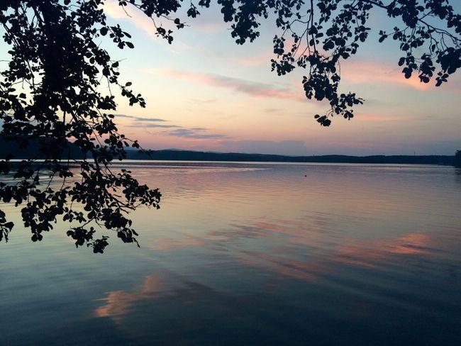 Летний закат. Челябинская область Water Idyllic Beauty In Nature Nature безфильтра
